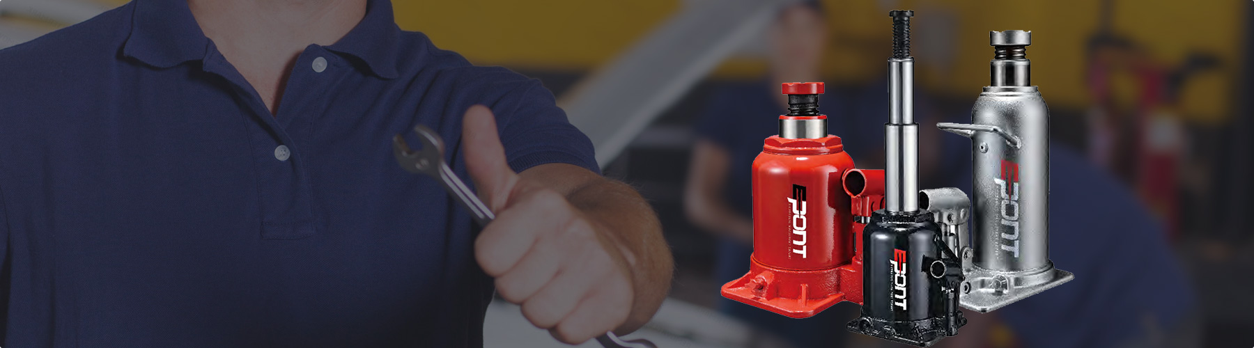 Prevent leakage of hydraulic jack oil