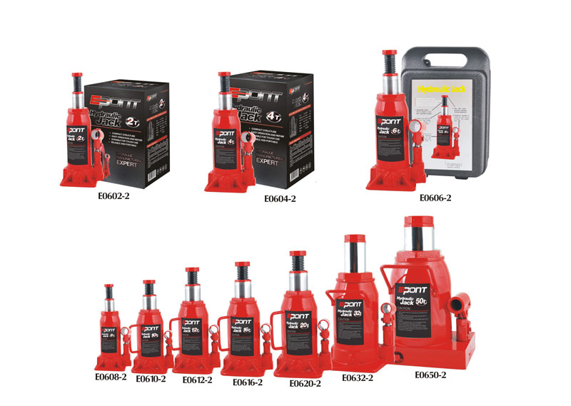 Introduction and use of hydraulic jack set