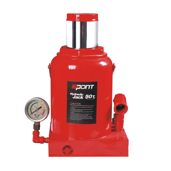 Hydraulic Bottle Jack(With Gauge) Welding Hydraulic Bottle Jack