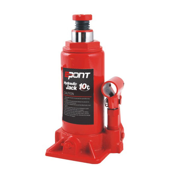 Hydraulic Bottle Jack - Epont Logo Welding Hydraulic Bottle Jack