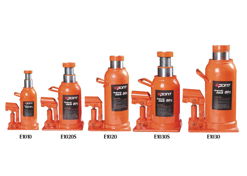 How many styles for hydraulic bottle Jack sets?